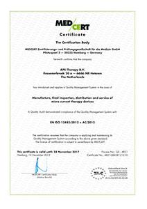 EN ISO 13485-2012 + AC-2012