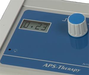 Lichaam 2 met een hogere weerstand kan een lagere display waarde veroorzaken bij gelijke instelling van de intensiteitsknop.